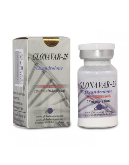 GLONAVAR-25 10ml 25mg/ml (injectable ANAVAR) NEW!!!