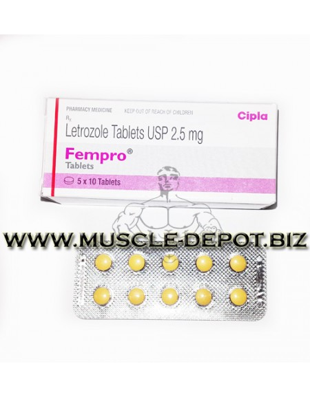 Letrozole (FEMPRO)  Tablets USP 2.5mg 10 tabs)