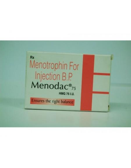 HMG - MENODAC 75iu/vial  (NEW!!!)