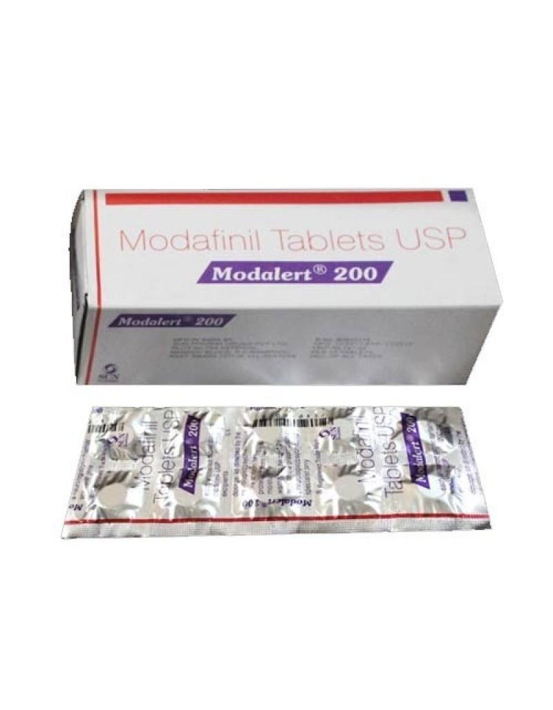 Modafinil Tablets (RADACTIV-200), 10 tabs