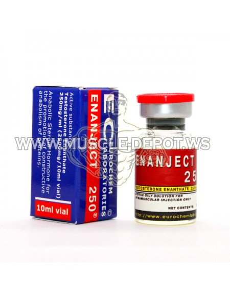 5 vials  X ENANJECT 10ml 250mg/ml