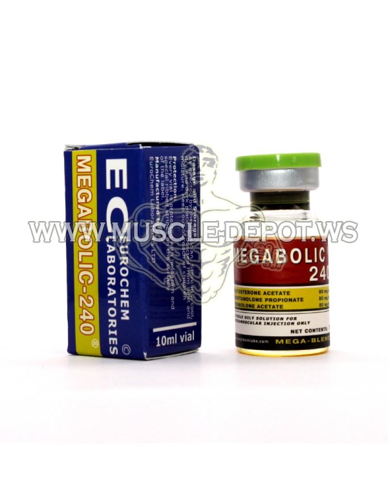 MEGABOLIC-240 10ml 240mg/ml