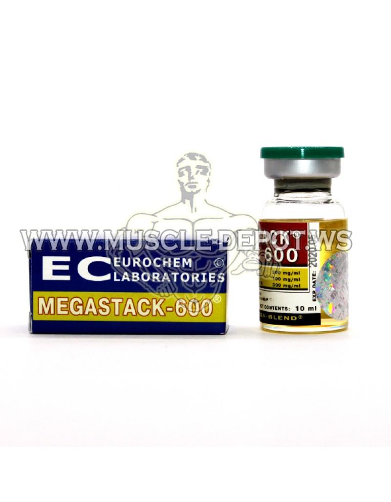 5 vials X MEGASTACK-600 10ml 600mg/ml