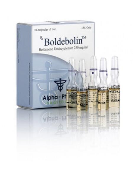 1 box BOLDEBOLIN  1ml 250mg/ml  (10 amps)